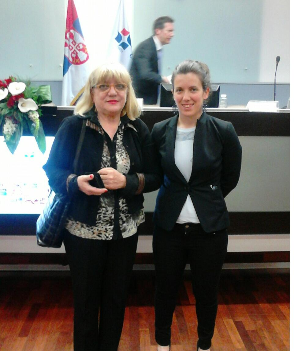 Član UO Ljubica Stankov i Franceska Barnaba iz Friuli inovacione Italia